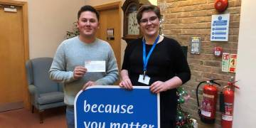 Donation to St Nicholas Hospice